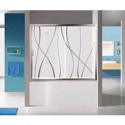 Sanplast TX kabina nawannowa wnękowa 130 cm D2-W/TX5b-130 Sitodruk W15 600-271-1530-39-231