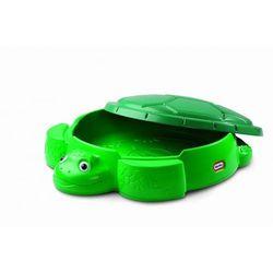 LITTLE TIKES Zielona Piaskownica Żółw z pokrywą