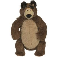 Pozostałe zabawki, SIMBA Masza i Niedźwiedź - Pluszowy Niedźwiedź, 43 cm