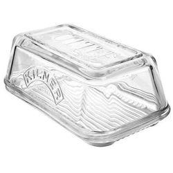 kilner szklany maselniczka – Vintage taca do serwowania, z pokrywką, idealnie nadaje się na masło na Home Made rzemieślnicy Butter