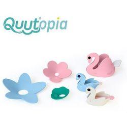 Quut zestaw puzzli piankowych 3d quutopia łabędzie