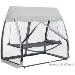 Hamak leżanka huśtawka leżak ogrodowy z moskitierą Goodhoome