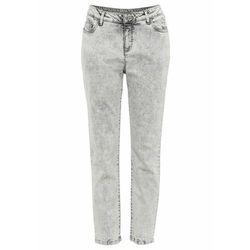 Spodnie cygaretki bonprix ciemnooliwkowy