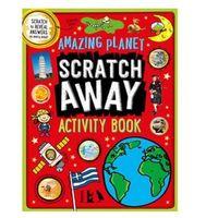 Książki do nauki języka, Scratch Away Amazing Planet ćwiczenia dla dzieci
