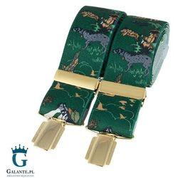 Zielone szelki do spodni Polowanie BR-025