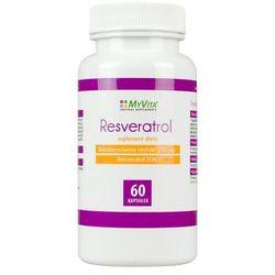 Resveratrol standaryzowany ekstrakt 250mg (50% resveratrolu) (MyVita) 60 kaps.