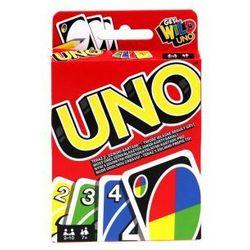 W2087 Mattel Karty UNO Gra karciana towarzyska -108+4 karty !