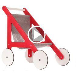 Wózek Dla Lalek Drewniany Ikar