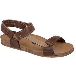 Sandały OTMĘT 415CP Brązowe NaturForm Fussbett Jezuski - Brązowy
