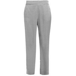 ASCENO MONOCHROME GEO BOTTOM Spodnie od piżamy white/black