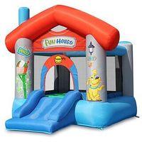Zabawki dmuchane, Dmuchany domek Happy Hop - Fun House - czerwony