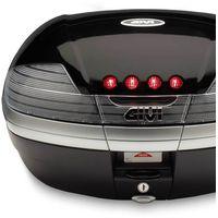 Kufry i bagażniki motocyklowe, Kufer Givi V46NT Monokey - 46 litrów - czarny TECH