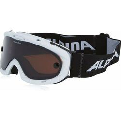 NOWE GOGLE ALPINA VARIO RUBY S WHITE SL HICON / BLACK S2