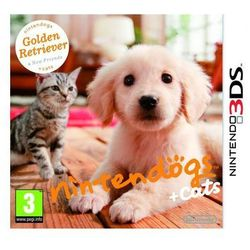 Dogs + Cats: Golden Retriever & New Friends - Nintendo 3DS - Wirtualny zwierzak