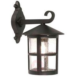 Zewnętrzna LAMPA ścienna HEREFORD BL21/G Elstead klasyczny KINKIET metalowa OPRAWA ogrodowa IP43 outdoor czarna