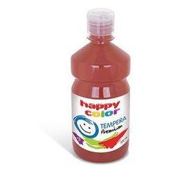 Farba 500 ml ciemnobrązowa - HAPPY COLOR