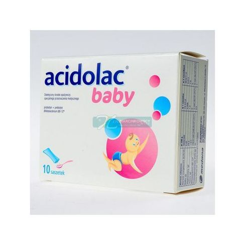 Prebotyki i probiotyki, Acidolac Baby - 1,5 g 10 sasz.a 1,5g