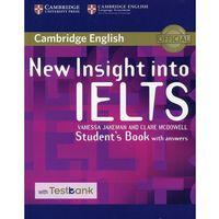 Książki do nauki języka, New Insight into IELTS Student's Book with answers - Jakeman Vanessa, McDowell Clare (opr. miękka)