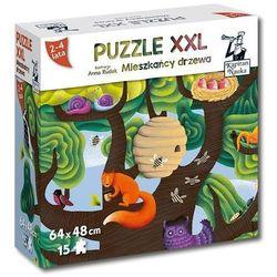 Puzzle XXL Mieszkańcy drzewa 2-4 lata
