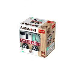 Zabawka drewniana - Ambulans 5Y36M5 Oferta ważna tylko do 2031-06-02