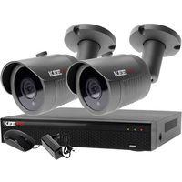 Zestawy monitoringowe, Zestaw 4w1, 2x Kamera FullHD/IR30, Rejestrator 4ch LV-XVR44N-II chmura