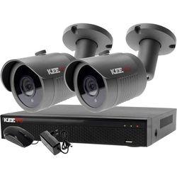 Zestaw 4w1, 2x Kamera FullHD/IR30, Rejestrator 4ch LV-XVR44N-II chmura