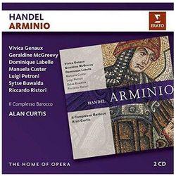 HANDEL: ARMINIO - Il Complesso Barocco, Alan Curtis (Płyta CD)