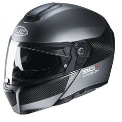 Hjc kask systemowy r-pha-90s carbon luve black/gre
