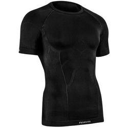 TERVEL COMFORTLINE 1102 - męska koszulka termoaktywna, krótki rękaw, kolor: Czarny