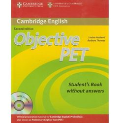 Objective Pet Student's Book Without Answers With Cd-Rom (opr. miękka)