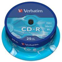 Płyty CD, DVD, Blu-ray, Płyta CD-R Verbatim 700MB Cake 25szt.