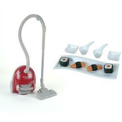 Klein Zabawkowy odkurzacz Electrolux Bordowy i zestaw do sushi