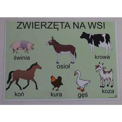 Zwierzęta na wsi- plansza demonstracyjna
