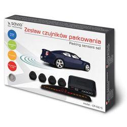 SAVIO Czujnik parkowania, wyświetlacz CP-02/S, srebrny
