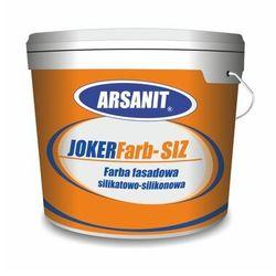 Farba silikatowo-silikonowa ARSANIT JOKERFarb–SIZ biała 10L
