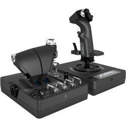 Logitech X56 H.O.T.A.S. - joystick og speeder - kabling - Joystick i przepustnica - PC