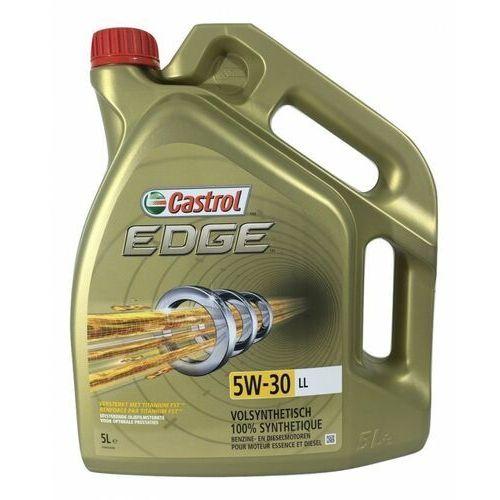 Oleje silnikowe, 5W30 CASTROL EDGE TITANIUM LL 5L