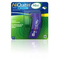 NIQUITIN mini 1,5mg x 20 tabletek do ssania