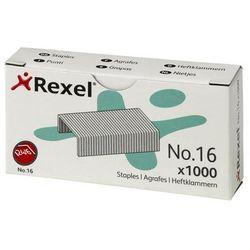 Rexel Zszywki nr 16 (6mm) 24/6, 1000 szt. (06121) Szybka dostawa! Darmowy odbiór w 21 miastach!