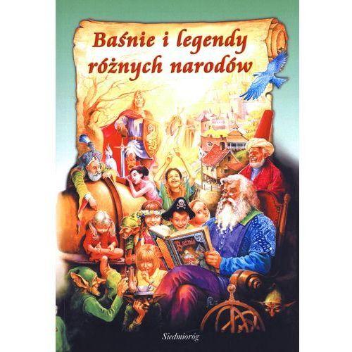 Książki dla dzieci, BAŚNIE I LEGENDY RÓŻNYCH NARODÓW (opr. broszurowa)