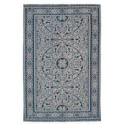 Dywan ETHNIC niebieski 60 x 90 cm wys. runa 3 mm INSPIRE