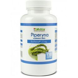 Piperyna Bioperyna 10mg 120 tabl. (Myvita)