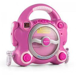 auna Pocket Rocker odtwarzacz CD Sing-A-Long 2 x mikrofon zasilanie z baterii