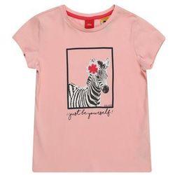 s.Oliver koszulka dziewczęca 104-110 różowa