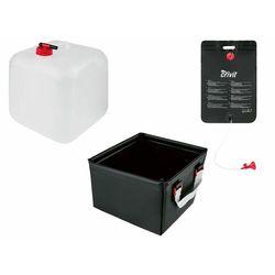 CRIVIT® Prysznic kempingowy / Składany kanister / Składany zlewozmywak kempingowy, 1 sztuka