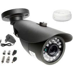 Zestaw do monitoringu: Kamera LV-AL20MT, Zasilacz, Przewód, Akcesoria podgląd na TV