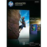 Papiery fotograficzne, HP Advanced Photo Glossy A4 25ark Q5456A - KURIER UPS 15PLN, Paczkomaty, Transport Kraków
