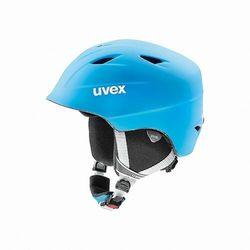 UVEX kask narciarski dziecięcy Airwing 2 pro - liteblue-white mat (52-54 cm)