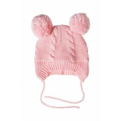 Czapka niemowlęca zimowa- wiązana 5X3531 Oferta ważna tylko do 2019-10-04