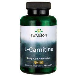 L-Karnityna L-Carnitine 500mg 100 tabletek SWANSON